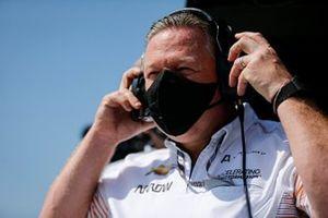 Patricio O'Ward, Arrow McLaren SP Chevrolet, Zac Brown