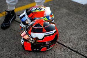Norman Nato, Venturi Racing, helmet