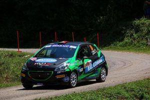 Fabio Farina, Luca Guglielmetti, Peugeot 208 RC4