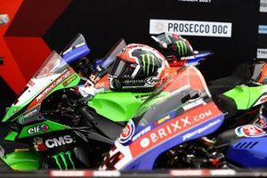Helm: Jonathan Rea, Kawasaki Racing Team WorldSBK