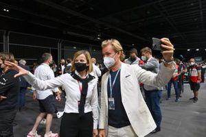 Susie Wolff und Nico Rosberg