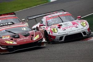 #25 HOPPY Porsche, #87 グランシード ランボルギーニ GT3
