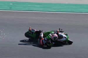 Jonathan Rea, Kawasaki Racing Team WorldSBK crash