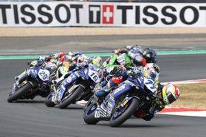 Dominique Aegerter, Ten Kate Racing Yamaha, Jules Cluzel, GMT94 Yamaha, Luca Bernardi, CM Racing