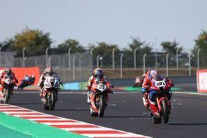 Leon Haslam, Team HRC, Michael Ruben Rinaldi, Aruba.It Racing - Ducati, Michael van der Mark, BMW Motorrad WorldSBK Team