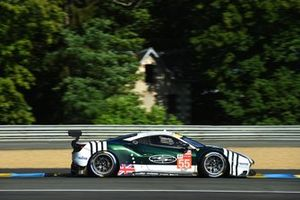 #55 Spirit Of Race Ferrari 488 GTE EVO LMGTE Am van Duncan Cameron, David Perel, Matthew Griffin