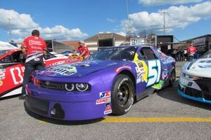 Nascar Pinty's cars at the parc ferme