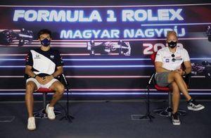 Pierre Gasly, AlphaTauri Nikita Mazepin, Haas F1