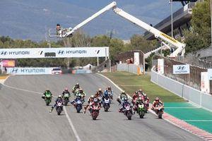 Start der Superbike-WM 2021 in Barcelona