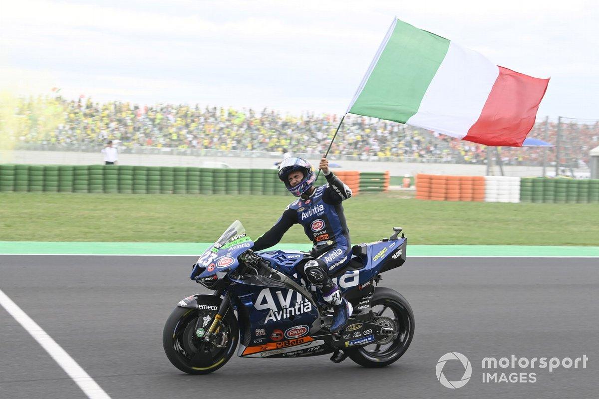 Tercer lugar Enea Bastianini, Esponsorama Racing