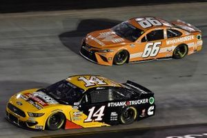 Chase Briscoe, Stewart-Haas Racing, Ford Mustang Rush Truck Centers/Cummins, David Starr, MBM Motorsports, Toyota Camry The Naked Market