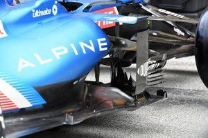 Alpine A521 detail