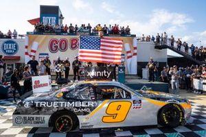 Race winner Noah Gragson, JR Motorsports, Chevrolet Camaro Bass Pros Shops/TrueTimber/BRCC