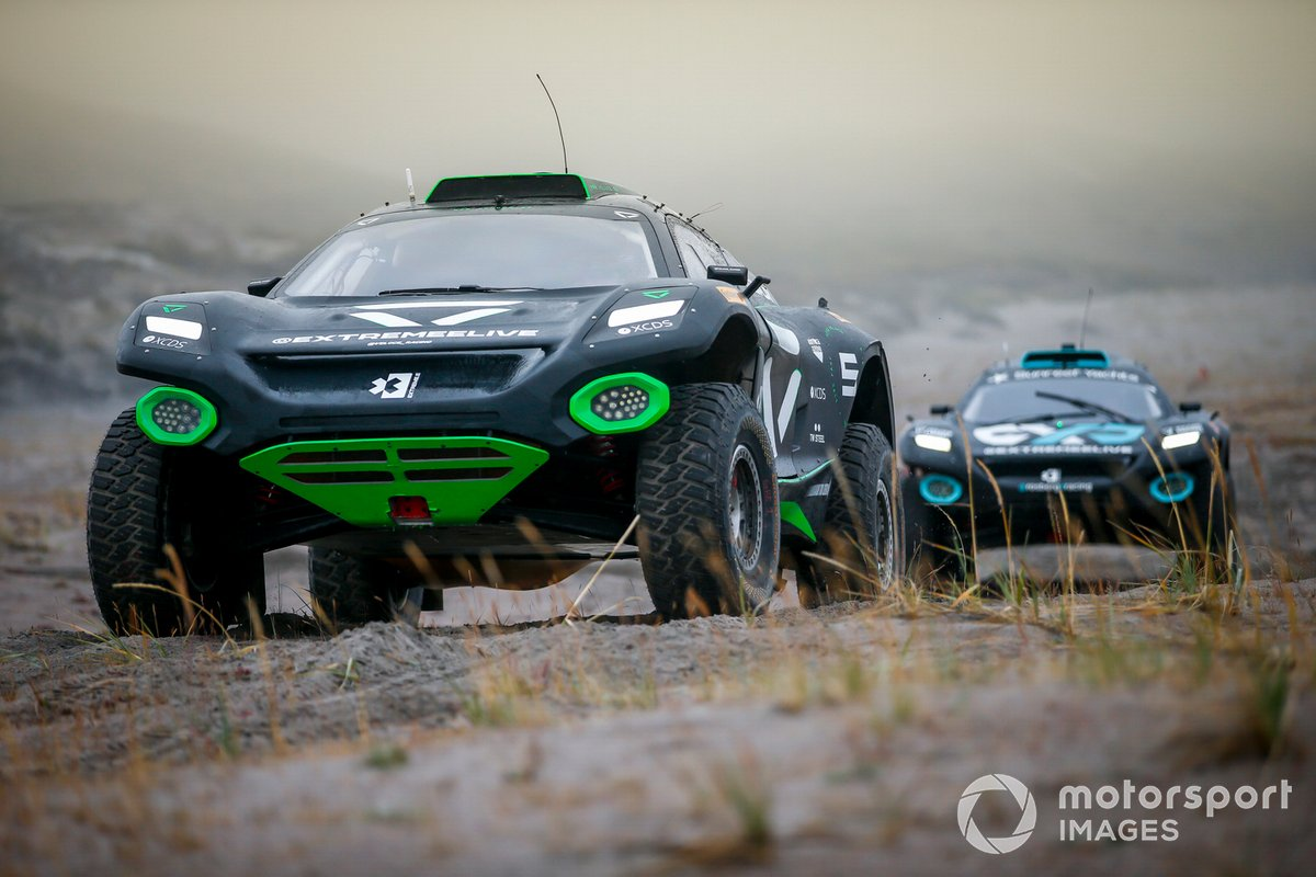 Emma Gilmour/Stephane Sarrazin, Veloce Racing, Molly Taylor/Johan Kristoffersson, Rosberg X Racing