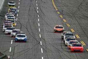 Justin Allgaier, JR Motorsports, Chevrolet Camaro BRANDT and Austin Cindric, Team Penske, Ford Mustang Carquest Auto Parts