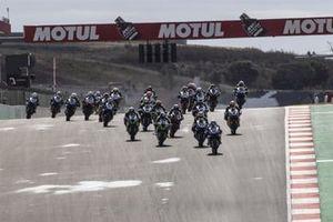 Start der Supersport-Klasse in Portimao 2021