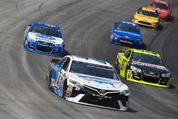 Gray Gaulding, BK Racing Toyota, Paul Menard, Richard Childress Racing Chevrolet, A.J. Allmendinger,