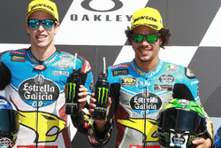 Alex Marquez, Marc VDS, Franco Morbidelli, Marc VDS after qualifying