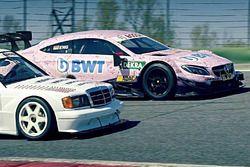1990 meets 2017 Mercedes DTM
