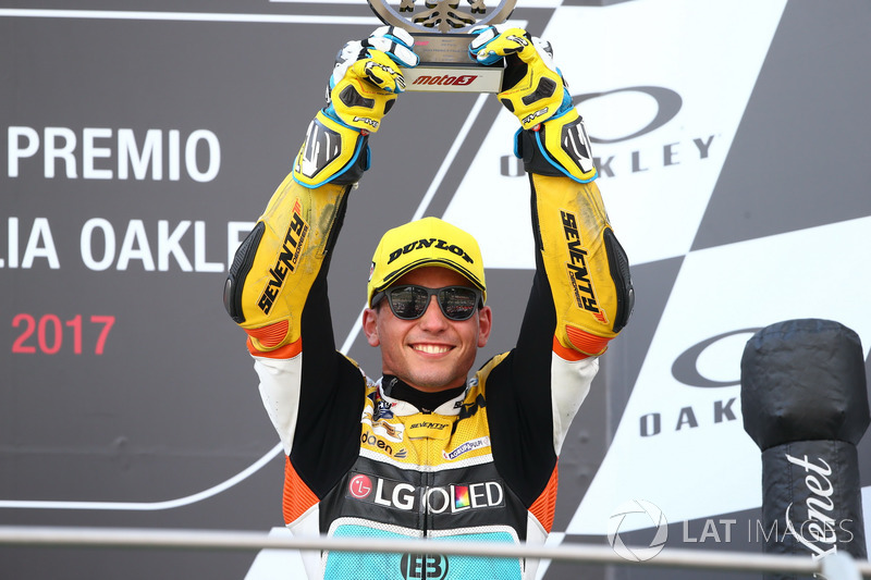 Podium: Juan Francisco Guevara, RBA Racing Team
