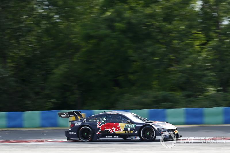 Ausfall: Marco Wittmann, BMW Team RMG, BMW M4 DTM
