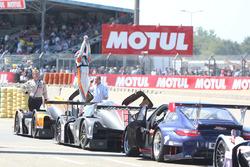 Ganador de la carrera #3 DKR Engineering Norma M30 - Nissan: Jean Glorieux, Alexander Toril