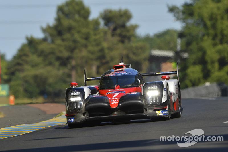 Стефан Сарразен (Toyota №7, LMP1) – сход