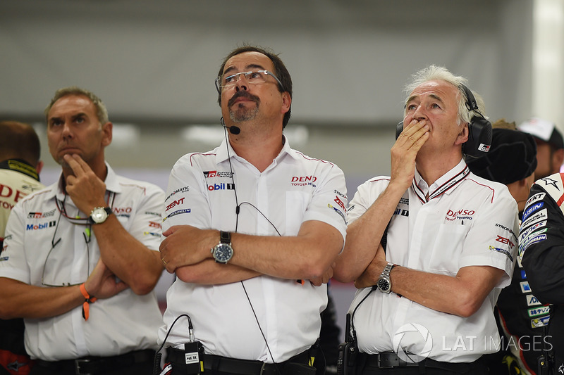 Реакция главы Toyota Gazoo Racing Роба Лепена и главы ORECA Юга де Шонака на сход экипажа №9