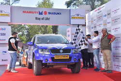 Suresh Rana, PVS Murthy, Maruti Suzuki Grand Vitara
