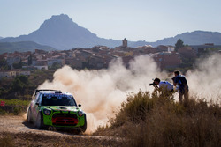 Valeriy Gorban, Sergei Larens, Eurolamp World Rally Team, BMW-Mini Countryman WRC