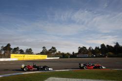 Joel Eriksson, Motopark Dallara F317 - Volkswagen, Felipe Drugovich, Van Amersfoort Racing Dallara F