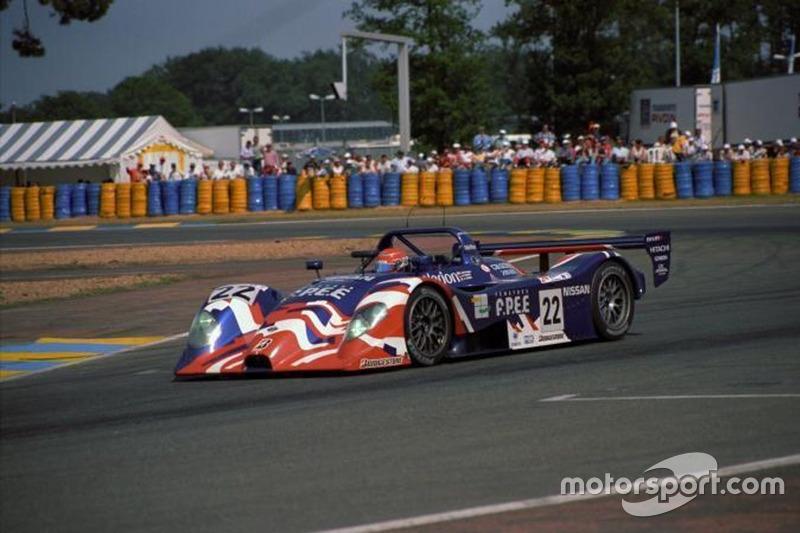 #22 Nissan R391, pemenang Le Mans Fuji 1000km 1999