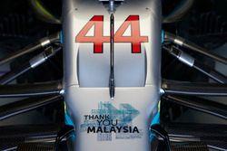 Teşekkürler Malezya, Lewis Hamilton, Mercedes AMG F1 W08
