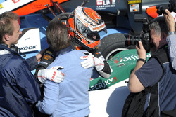 Max Verstappen, VAN AMERSFOORT RACING Dallara F312 Volkswagen et Jos Verstappen
