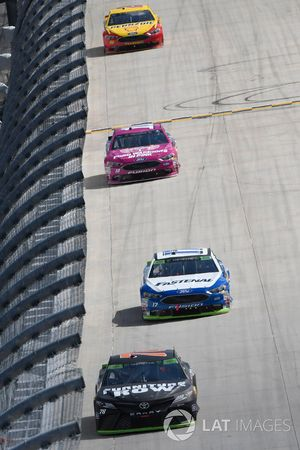 Martin Truex Jr., Furniture Row Racing Toyota, Ricky Stenhouse Jr., Roush Fenway Racing Ford, Danica