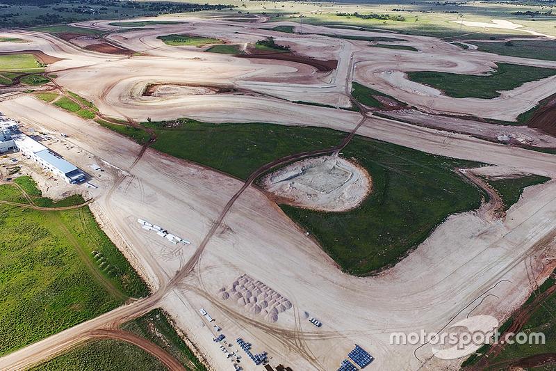 The Bend Motorsport Park, construção