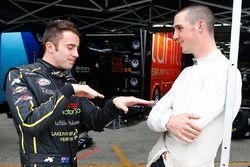 James Davison, Joe Gibbs Racing Toyota, Austin Cindric, Team Penske Ford