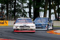 Austin Cindric, Team Penske Ford y Brennan Poole, Chip Ganassi Racing Chevrolet