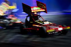 Stock cars in de Live Action Arena