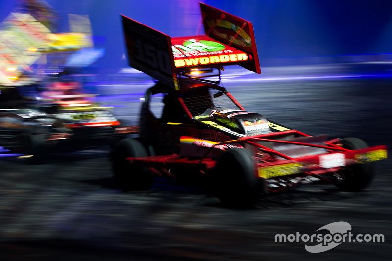 Stock cars en la Live Action Arena