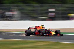 Max Verstappen, Red Bull Racing RB13 vonken