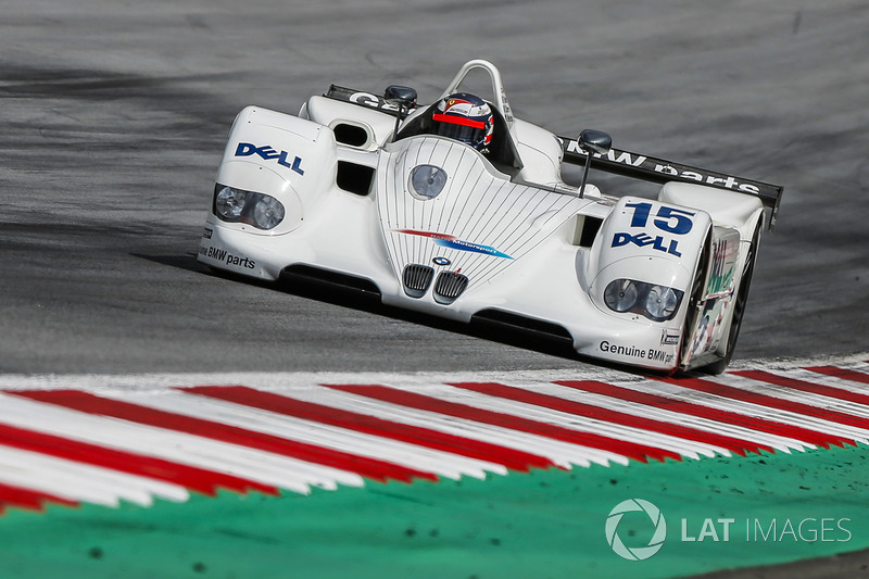 Gerhard Berger, BMW V12 LMR