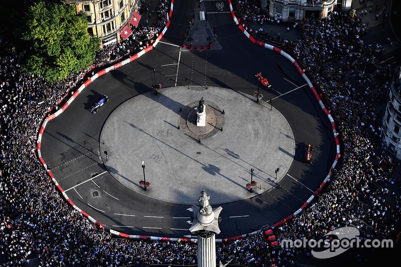 Foto udara F1 Live London