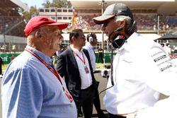 Niki Lauda, Non-Executive voorzitter, Mercedes AMG F1, Mansour Ojjeh van McLaren