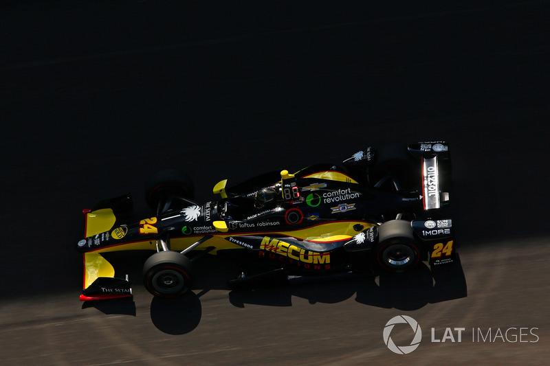 Defekt: Sage Karam, Dreyer & Reinbold Racing, Chevrolet