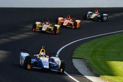 Alexander Rossi, Herta - Andretti Autosport, Honda; Ryan Hunter-Reay, Andretti Autosport, Honda; Fer