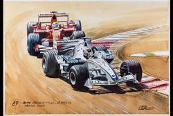 Pinturas de coches de BMW en su colección de 101 cuadros