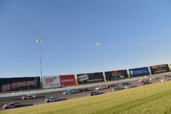 Gray Gaulding, BK Racing Toyota, Danica Patrick, Stewart-Haas Racing Ford
