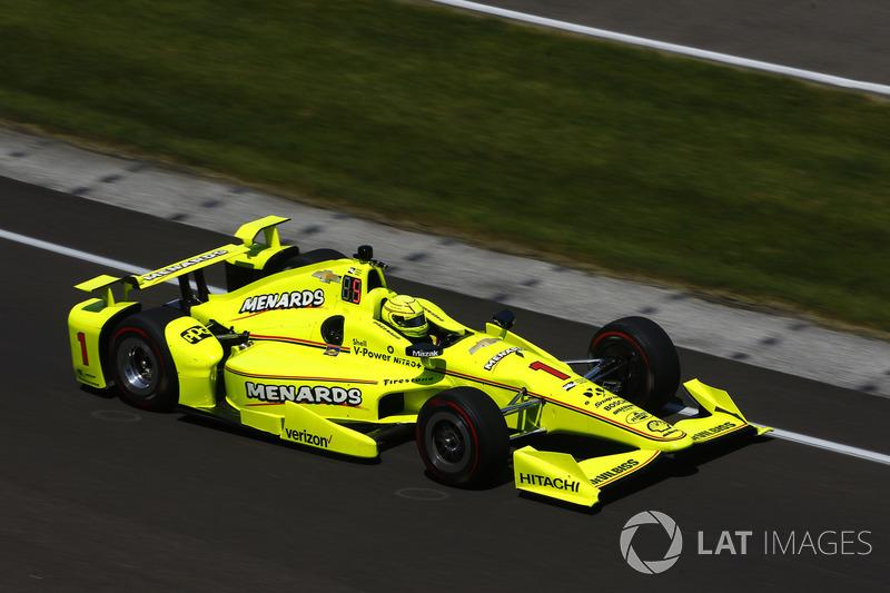 23: Симон Пажено, Team Penske Chevrolet