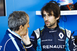 Nicolas Prost, Renault e.Dams, with Alain Prost